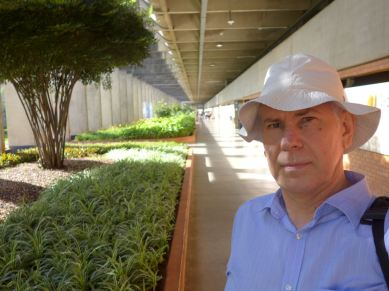 E. Khukhro's selfie in Univ. of Brasilia, November 2015
