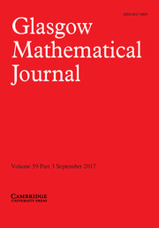 glasgow_mathematical journal